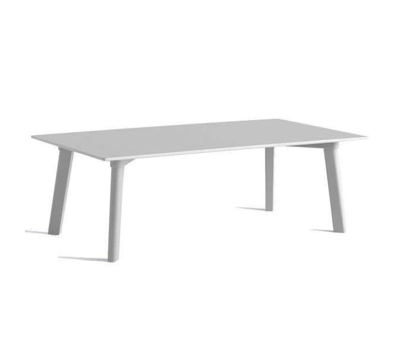 HAY CPH Deux 250 - Coffee table - 120x60cm - Frame + Table top Dusty ...