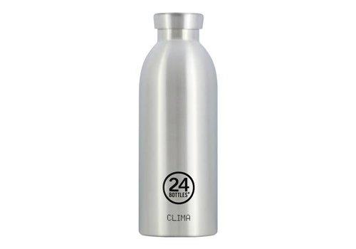 24 Bottles Clima Bottle - 0.5l - Steel