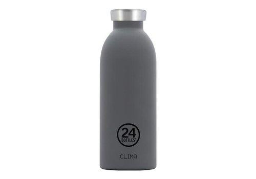 24 Bottles Clima Bottle - 0.5l - Formal Grey