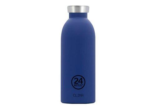 24 Bottles Clima Bottle - 0.5l - Gold Blue