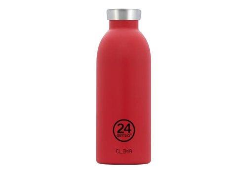 24 Bottles Clima Bottle - 0.5l - Hot Red