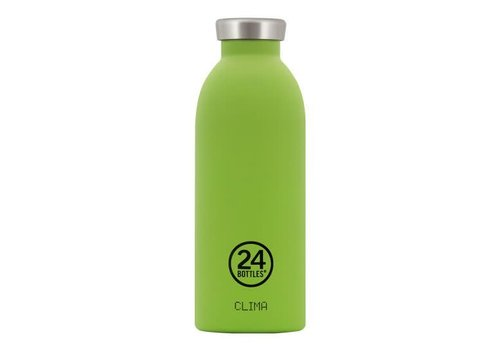 24 Bottles Clima Bottle - 0.5l - Lime Green