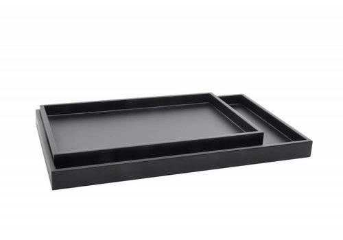 Low tray rectangular coffee bean set of 2