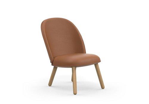 Normann Copenhagen Ace Lounge Chair Leather Brandy