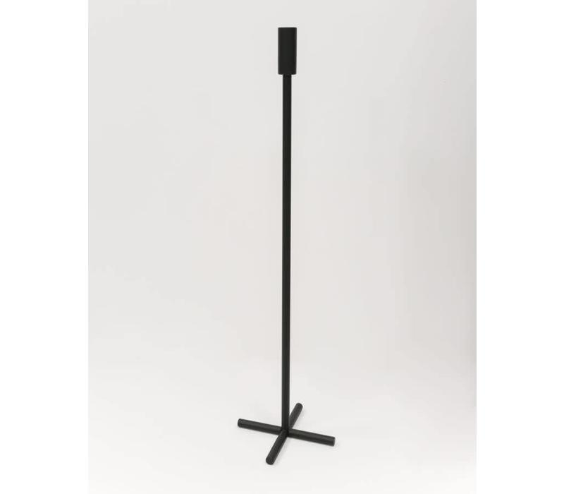 Plus Candle holder - Black