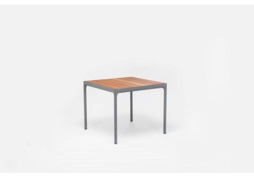 HOUE Four table - Gray powder coated
