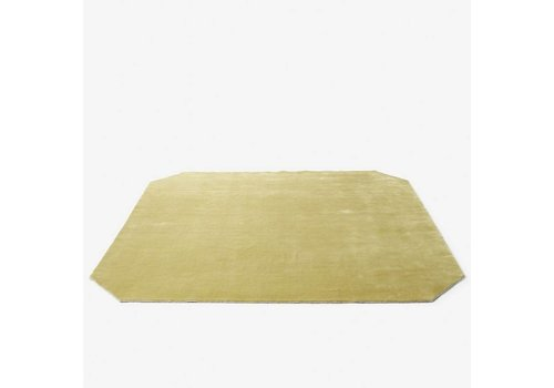&Tradition The Moor Rug - AP6 - Yellow field- 240 x 240 cm