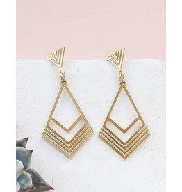 Shlomit Ofir Long California Earrings