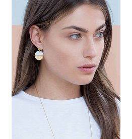 Shlomit Ofir Circle earrings - Gold