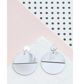 Shlomit Ofir Circle earrings - Silver