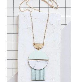 Shlomit Ofir Circle Necklace - Gold