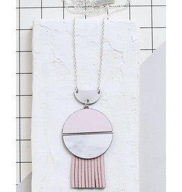 Shlomit Ofir Circle Necklace - Silver
