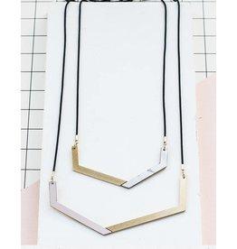 Shlomit Ofir Isometric Necklace - Gold
