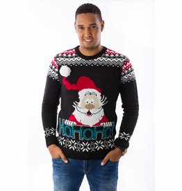 Weihnachtspulli Rudolph Ho-ho-ho