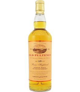 Old Pulteney 15-year-old Gordon & MacPhail