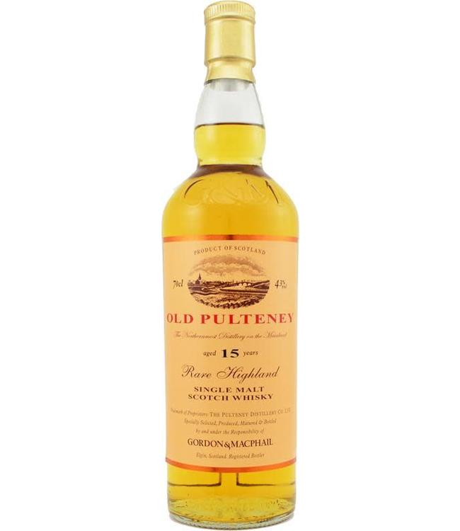 Old Pulteney Old Pulteney 15-year-old Gordon & MacPhail