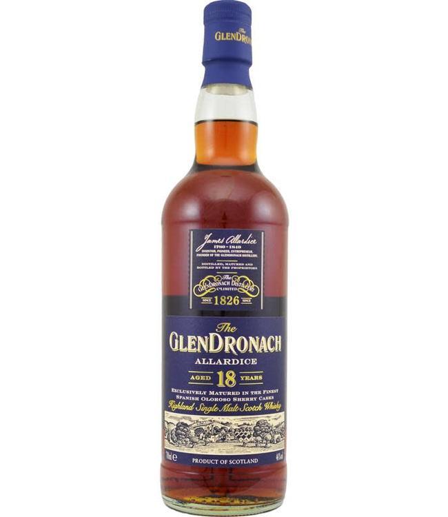 Glendronach Glendronach 18 jaar Allardice