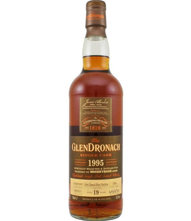 Glendronach Glendronach 1995 for Whiskybase