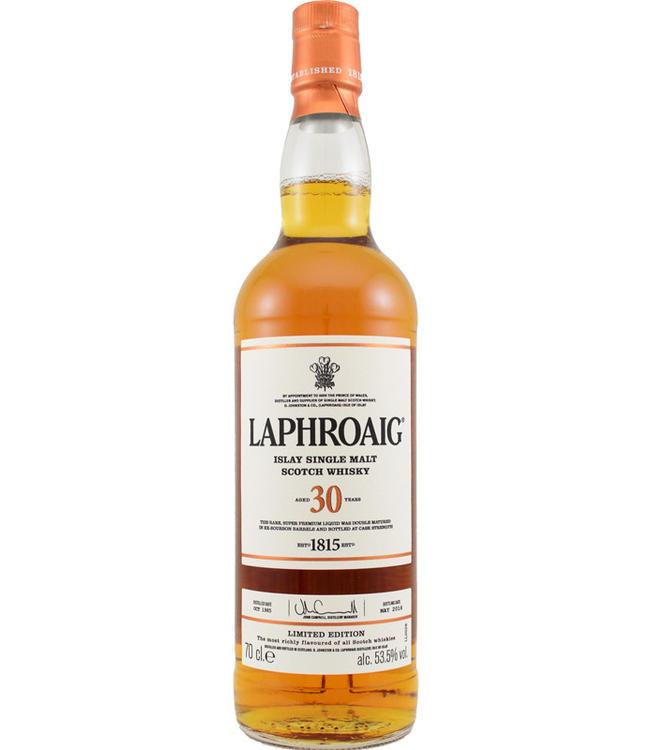 Laphroaig Laphroaig 30 jaar - 53.5%