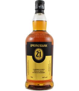 Springbank 21 jaar - 2017