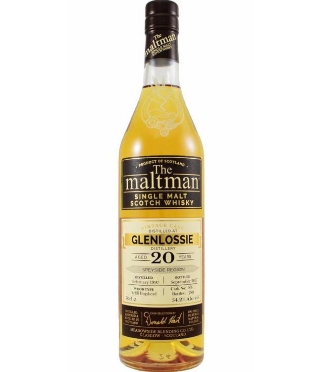 Glenlossie Glenlossie 1997 The Maltman