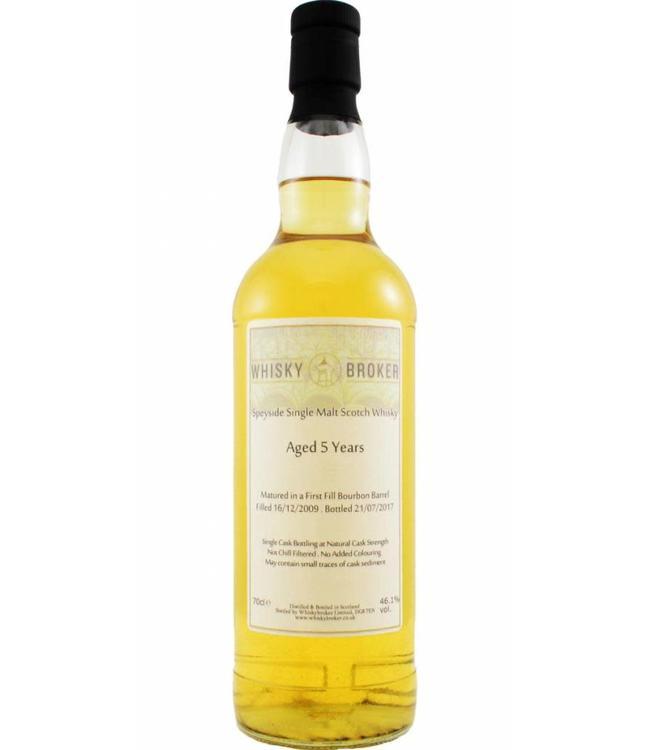 Speyside Single Malt Scotch Whisky 05-year-old WhB Whiskybroker.co.uk