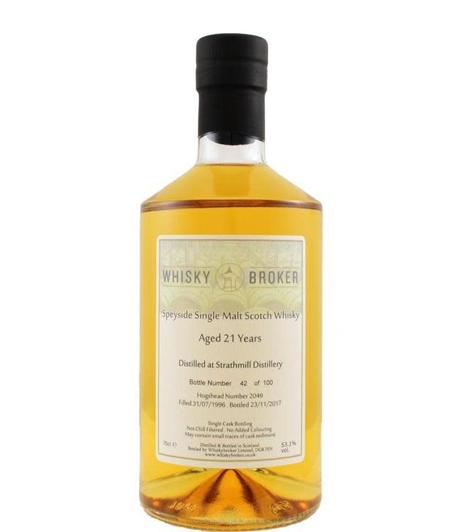 Strathmill Strathmill 1996 WhB Whiskybroker.co.uk