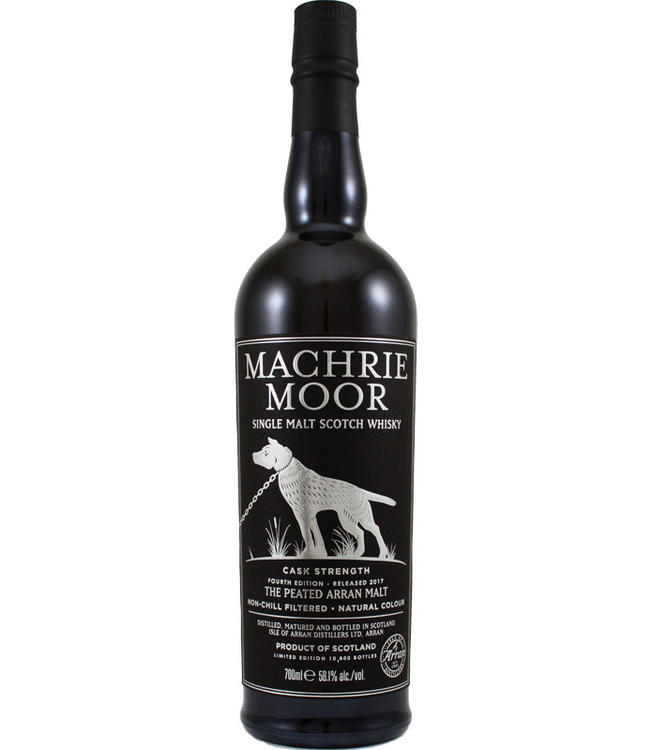 Machrie Moor Machrie Moor Cask Strength - Fourth Edition