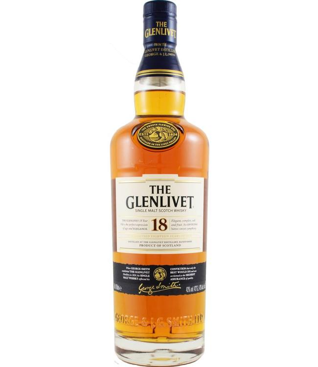 Glenlivet Glenlivet 18 jaar