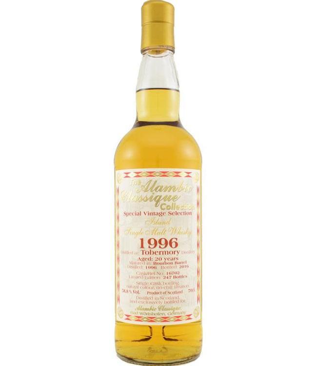 Tobermory Tobermory 1996 Alambic Classique  - 58.8%