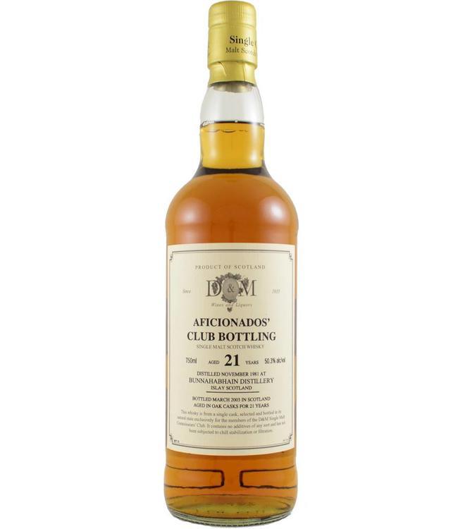 Bunnahabhain Bunnahabhain 1981 D&M Wines and Liquors