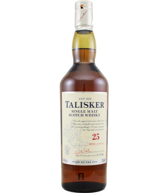 Talisker Talisker 25 jaar - b.2017