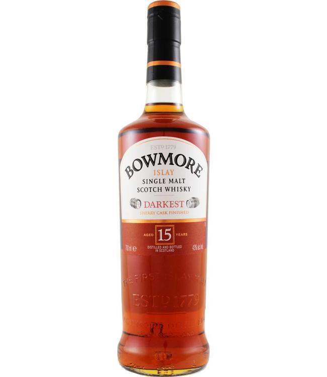 Bowmore Bowmore 15 jaar Darkest