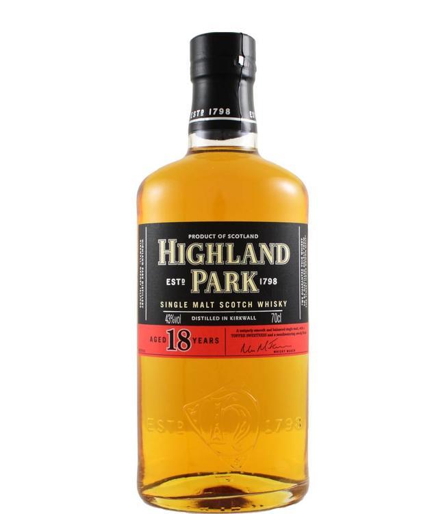 Highland Park Highland Park 18 jaar