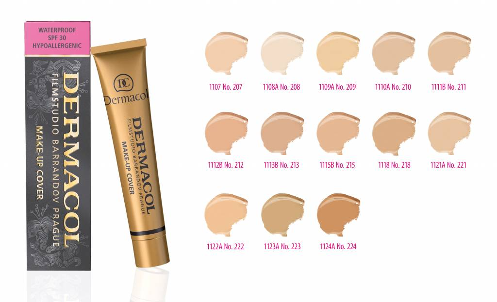 Dermacol camouflage make-up cover Legendary high covering make-up - Tint 212 - 0000085945999
