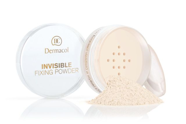 Invisible Fixing Powder - Transparant Fixing Powder - White - 13 gram