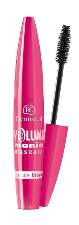 Dermacol Volume Mania Mascara 10ml - Zwart (GEVOELIGE OGEN/CONTACTLENZEN)