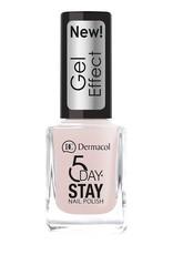 Dermacol 5 Day Stay Nail Polish Gel Effect 12ml W 26 Satiné