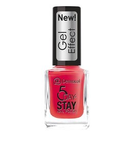 Dermacol 5 Day Stay Nail Polish Gel Effect 12ml W 28 Moulin Rouge