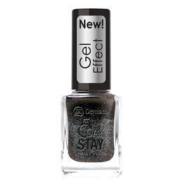 Dermacol 5 Day Stay Nail Polish Gel Effect 12ml W 32 Chat Noir