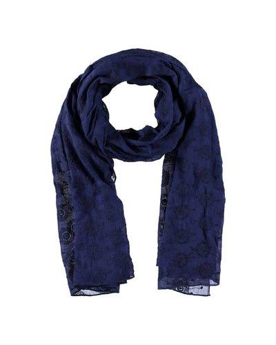 Sjaal Katoen Donkerblauw