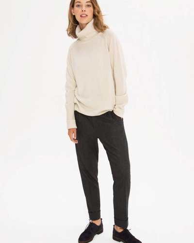 Zenggi Wider Rollneck Sweater Ivory