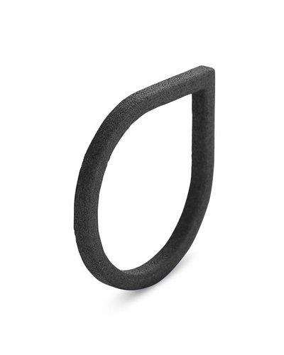 Ola Ring druppel zwart
