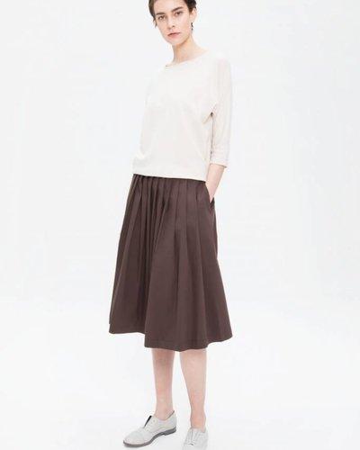 Zenggi Plated Skirt Hazel