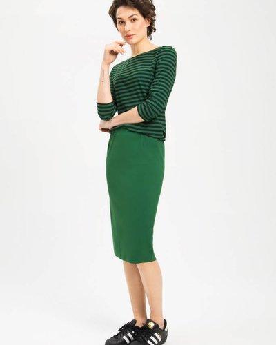 Zenggi Pencil Skirt Green