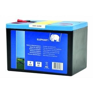 Elephant Hegnsbatteri Alkaline 9V/55Ah