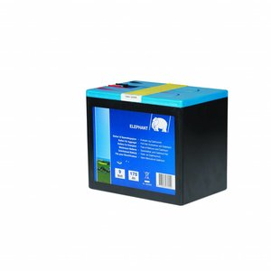 Elephant Alkaline Batteri 9V/175A