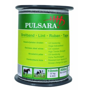 Elephant/Pulsara Tape 10mm white, 200m