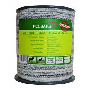 Elephant/Pulsara Bånd 40 mm Premium hvid, 200m