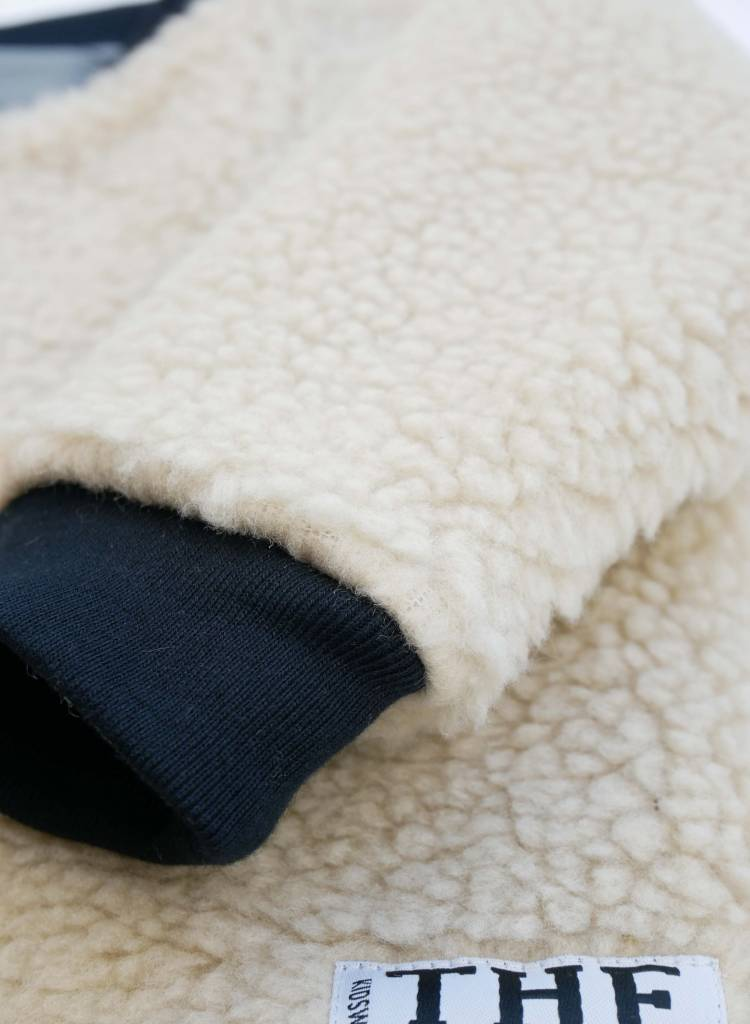 Reversible Jacket Jersey and  Plush